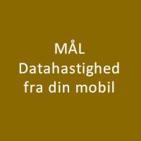mobil netværk data hastighed