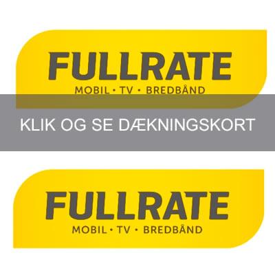 Fullrate mobildækning og dækningskort