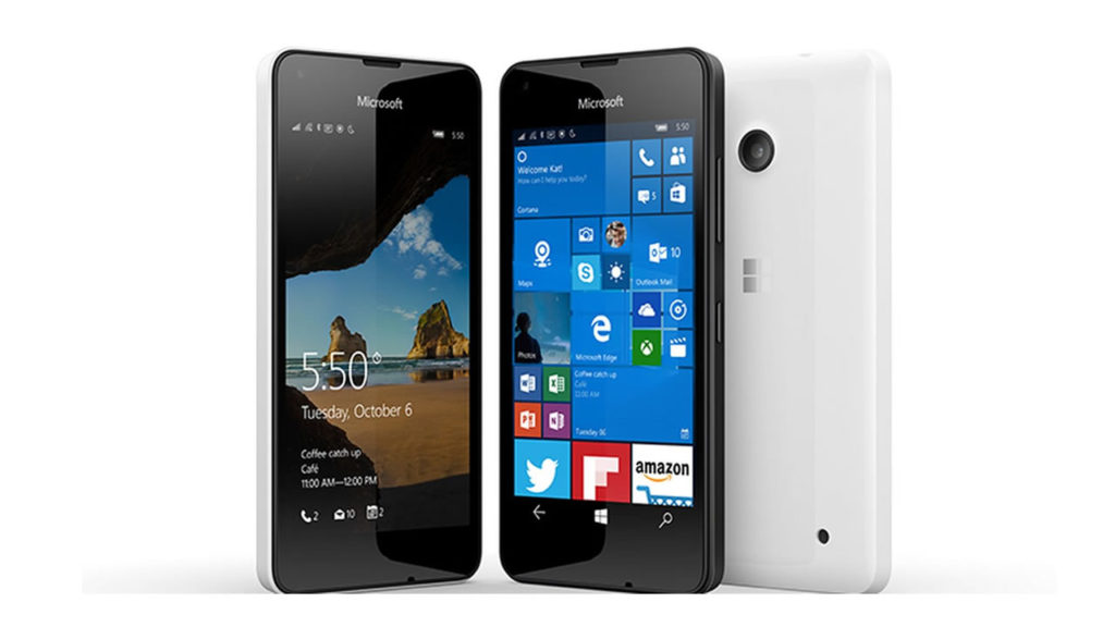 microsoft lumia 550 mobil på tilbud