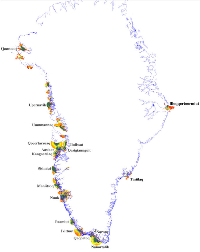 Dækning Grønland