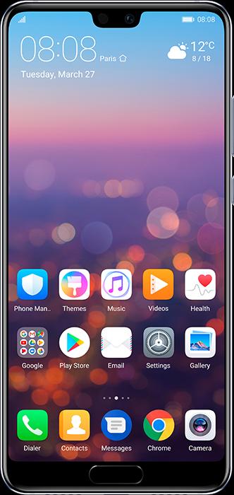Huawei P20 mobil test