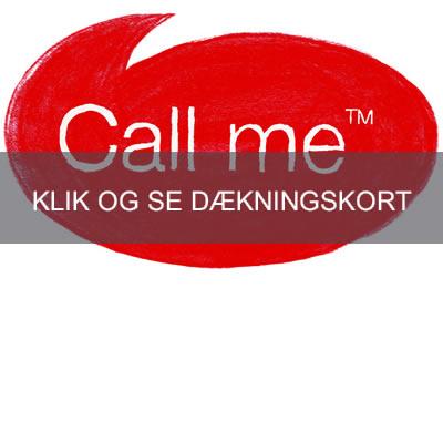 CallMe Dækning og dækningskort