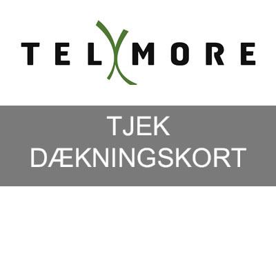 telmore dækningskort og dækning