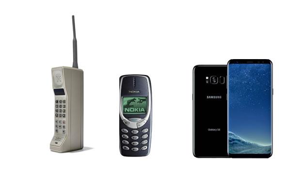 Mobiltelefon udvikliing