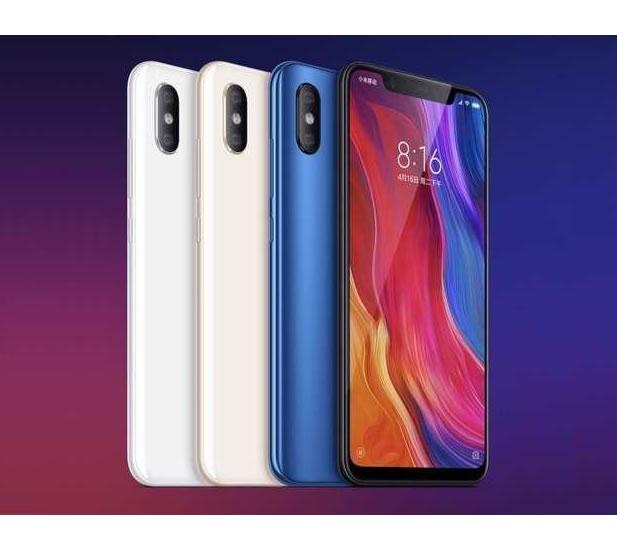 Xiaomi mi8 farver